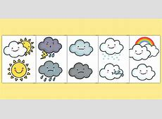 Weather Symbol CutOuts KS1 Weather Resources