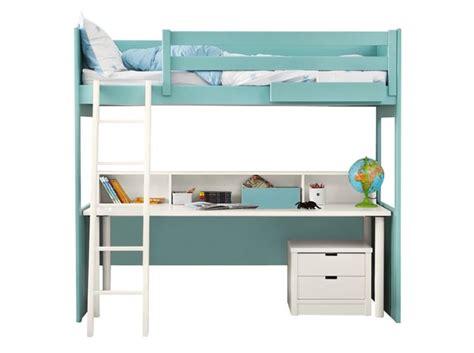 lit mezzanine 1 place avec bureau 80 lits mezzanine pour gagner de la place décoration