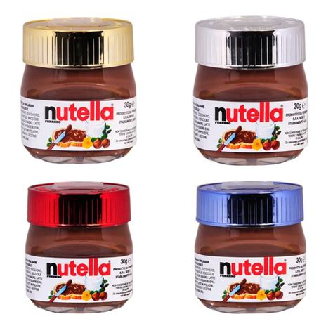 nutella and pots on
