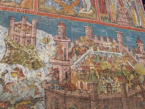 siege de constantinople romania picturesqe romania and manastiri moldova