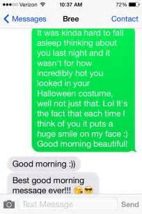 Cute Good Morning Text Messages