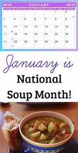 January is National Soup Month! – CasiCatracha