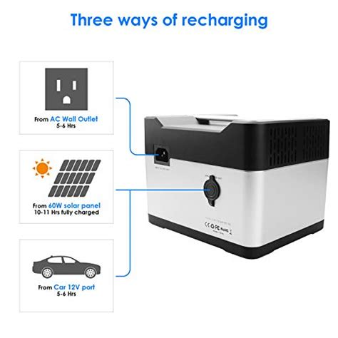 wh portable generator mah rechargeable lithium