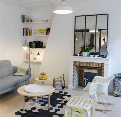 appartement duplex paris     tres contemporain