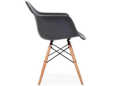chaise eames daw chaise daw anthracite