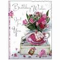 Birthday Card Female ~ Lady Happy Birthday ~ Roses ...