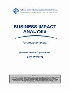 it business impact analysis template - business impact analysis template 5 free templates in