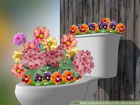 Garden Decoration With Waste by How To Decorate A Garden With Waste Material 10 Steps