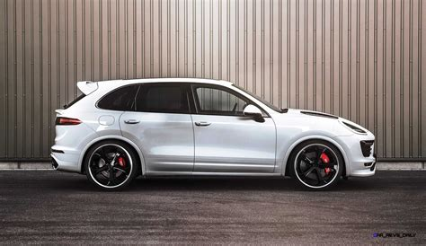Techart Launches 700hp 2018 Porsche Cayenne Turbo Powerkit