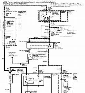 1997 Honda Civic Starter Wiring Diagram