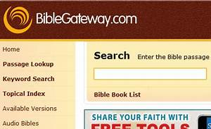 Best Bible Site... Bible Gateway