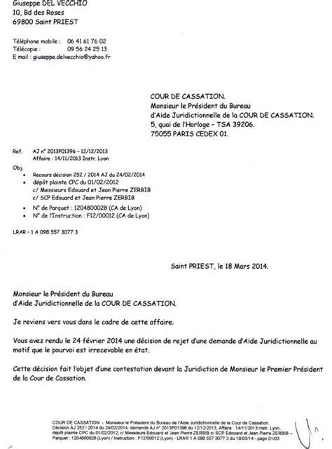 bureau aide juridictionnelle cour de cassation monsieur le pr 233 sident du bureau d aide juridictionnelle de la cour de