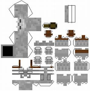 Minecraft Papercraft Mutant Skeleton | www.pixshark.com ...