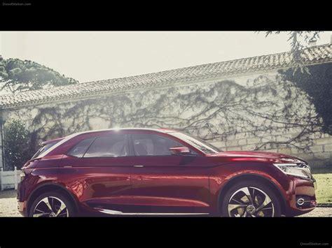 Citroen Ds Wild Rubis Concept 2018 Exotic Car Wallpaper