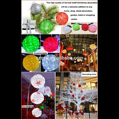 outdoor christmas led light ball outdoor christmas lighted