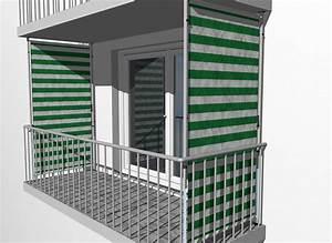 Balkon Sichtschutz Design Blockstreifen Grn Wei