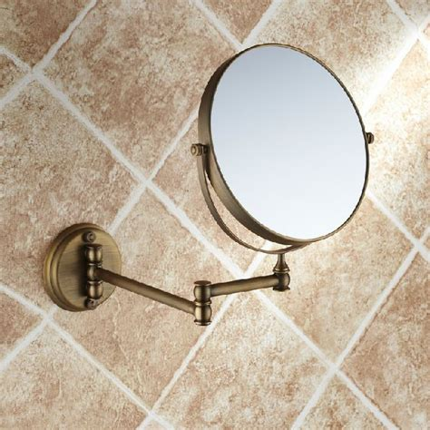 Retractable Mirror Bathroom by High Quality Fashion Antique Copper Retractable Wall