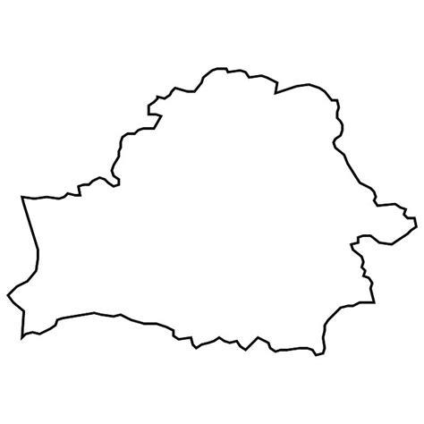 Belarus Blank Map - ClipArt Best