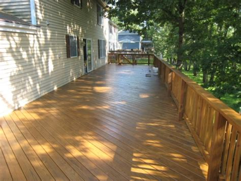 Tinted Deck Sealer
