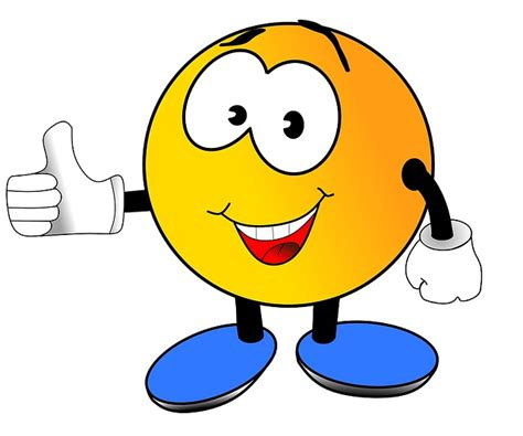 smili daumenhoch lachen kostenloses bild auf pixabay