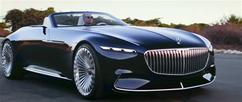 Maybach Car :  Vision Mercedes-maybach 6 Cabriolet
