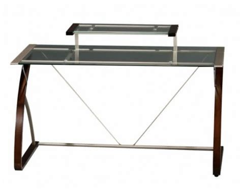 Officemax Glass L Desk by Espresso Wood Desk Unfortunately Not Made From Coffee