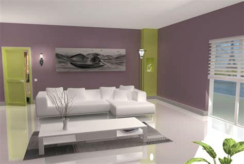 decoration maison peinture murale salon