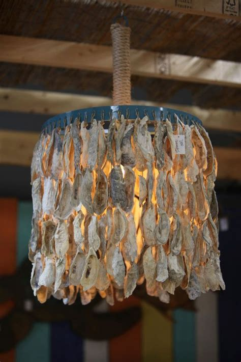 oyster shell decor oyster shell chandelier ideas homesfeed 1360