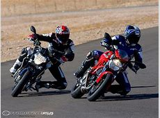 2009 Aprilia Shiver vs Ducati Monster 696 MotoUSA YouTube