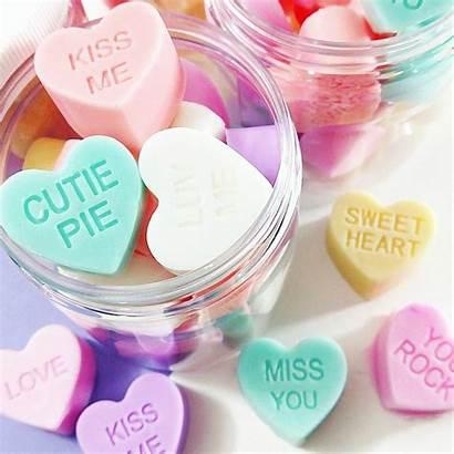 Soap Valentine Conversation Sweetheart Soaps Heart Hearts