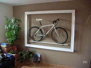 Fahrrad Wandhalterung Design : die 25 besten ideen zu fahrradhalter auf pinterest garage fahrradhalter e fahrrad und ~ Frokenaadalensverden.com Haus und Dekorationen