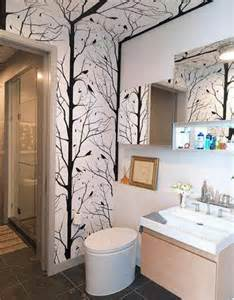 wallpapered bathrooms ideas wallpapers for bathrooms walls 2017 grasscloth wallpaper