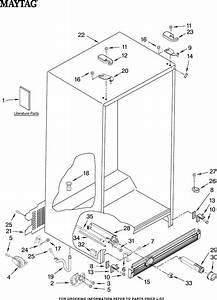 Maytag Refrigerator Msd2550ves01 User Guide