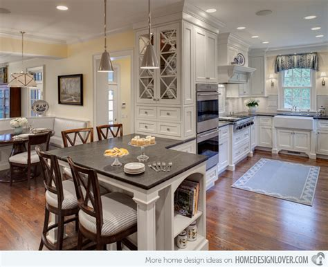 Built In Kitchens : 15 Lovely Built-in Kitchen Tables
