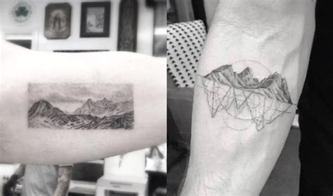 ultimate guide  mountain tattoos
