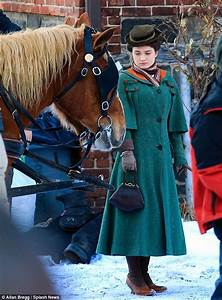 Bono39s Daughter Eve Hewson Stuns In Period Costume On Set
