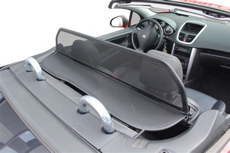 Peugeot 207 Cc Windschott Schwarz 2006 2014 Cabrio Supply