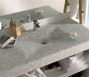 mosaique salle de bain laquelle choisir cote maison With plan a carreler salle de bain