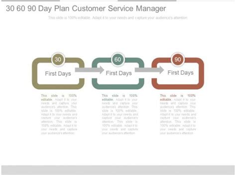 day plan customer service manager