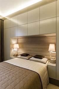 Dressing Autour Du Lit : t te de lit 10 id es pour en faire un dressing femme ~ Premium-room.com Idées de Décoration