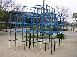 monkey bars, Talk about old school playground equipment ...