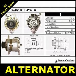 Alternator Vw Taro Toyota Hilux Dra3518