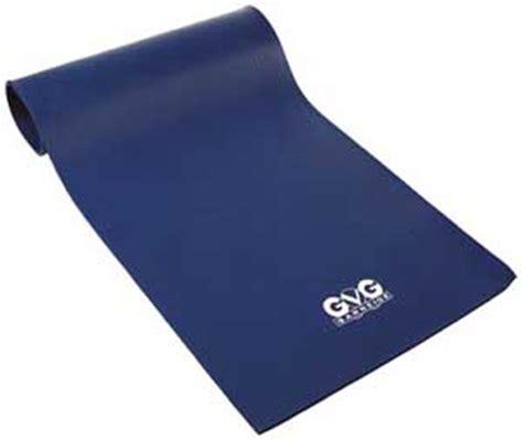 natte de tapis de protection gvg sport sarneige 15 bleu 1800 x 600 x 15 mm