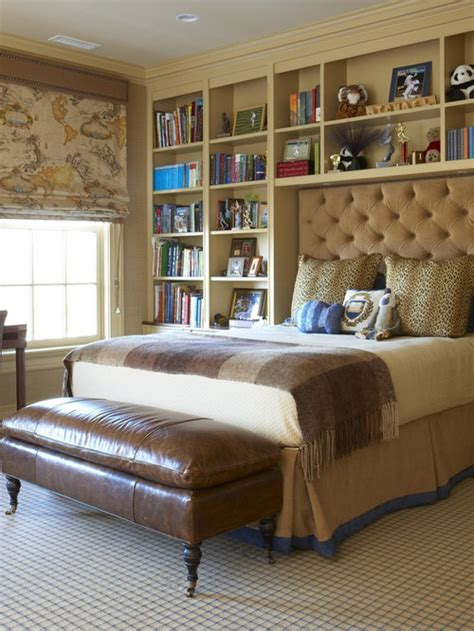 bookcases  bed houzz