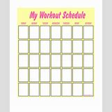 Weekly Workout Schedule Template | 600 x 730 jpeg 42kB