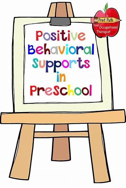 Behavior Classroom Clipart Positive Rules Preschool Social