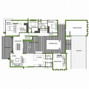 Floor Plan 3 Bedroom House South Africa - Home Deco Plans