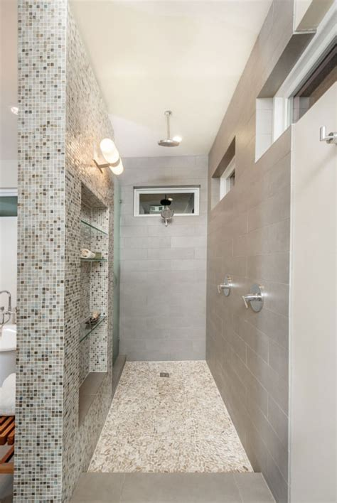 27 Walk In Shower Tile Ideas That Will Inspire You  Home. Kitchen Utility Cart. Stair Bookcase. Mirrored Chest Of Drawers. Shower Chairs And Benches. Universal Lighting And Decor. Chair Hammock. Interior Garage Door. Contemporary Dining Table