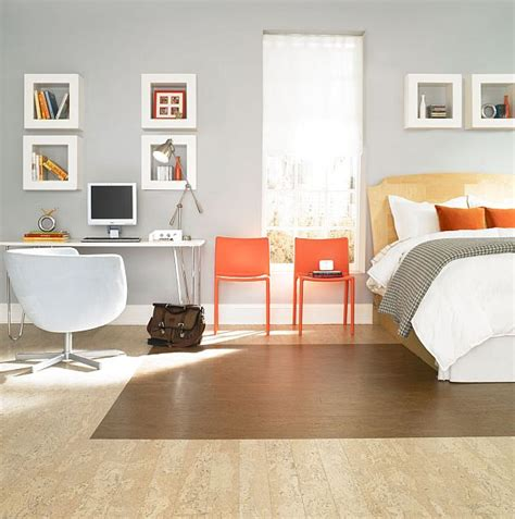 cork flooring bedroom bedroom cork parquet flooring