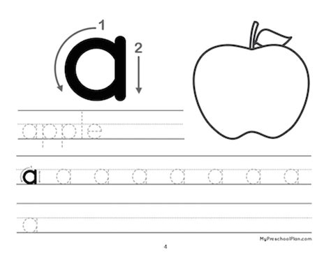 alphabet number printable pack for preschoolers my preschool plan